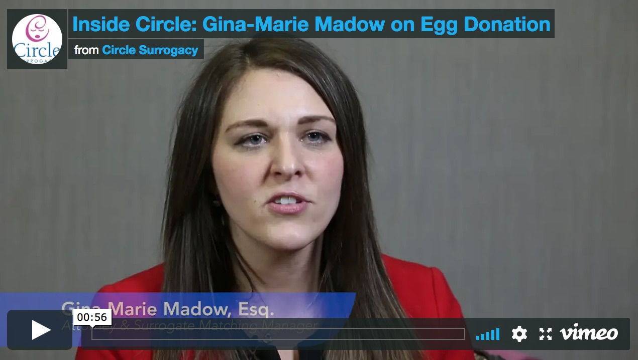 Video image for Gina-Marie Madow on egg donation