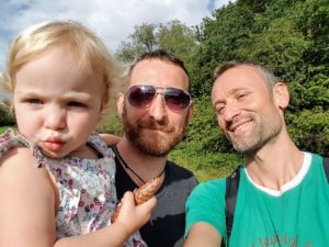 Fabien and his family
