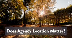 Image of Becoming a Surrogate: Does an Agency's Location Matter?