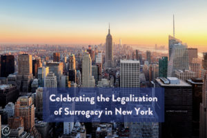 Image of Celebrating Legalization of Surrogacy in New York