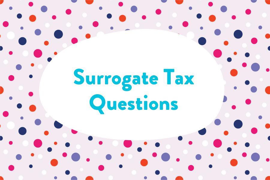 surrogate taxes