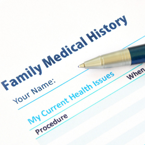 Egg donor family medical history